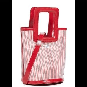 Solid & stripe Red Bag 49806714 Anthropologie New